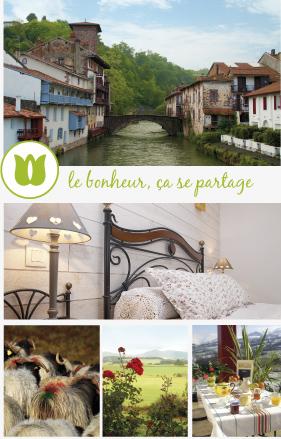 Chambre Et Table DHte Pays Basque  Florenia